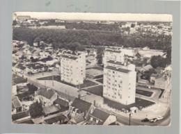 CP (18) En Avion Au Dessus De ... Bourges - Cité Du Beugnon - Bourges
