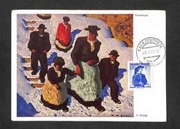AUTRICHE - AUSTRIA - OSTERREICH - Carte MAXIMUM 1950 - Kirchstiege - Maximumkarten (MC)