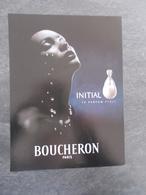 Publicité Papier Parfum - Perfume Ad : BOUCHERON Initial France 2001 (2ème Modèle) - Advertisings (gazettes)