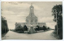 DERVAL  L'Hospice ( Hospice Saint Michel ) Et La Chapelle - Dos Vert - Derval