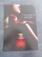 Publicité Papier Parfum - Perfume Ad : BOUCHERON Trouble France 2004 - Advertisings (gazettes)