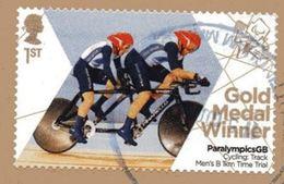 GROSSBRITANNIEN GRANDE BRETAGNE GB 2012 CYCLING: TRACK MEN'S 1 KM TITRIAL PARALYMPICS 1ST SG 3376 MI 3331 YT 3724 SC 308 - 1952-.... (Elizabeth II)