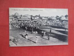 Marche De La Cathedrale  Port Au Prince Haiti   Ref  3460 - Haiti