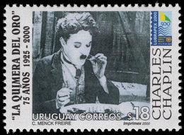 Uruguay 2000 Charlie Chaplin Unmounted Mint. - Uruguay