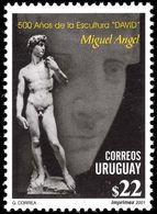 Uruguay 2001 Michelangelos David Unmounted Mint. - Uruguay