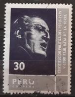 PERU 1981 Constitution. USADO - USED. - Perú
