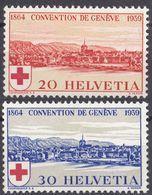HELVETIA - SUISSE - SVIZZERA - 1939 - Lotto Di 5 Valori Nuovi: Yvert 342 MNH E 343 MH. - Nuovi