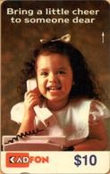 Malaysia - GPT, KadFon, 6MSTC, Girl English Text, 10RM, 3.000ex, 8/91, Used - Malaysia
