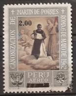 PERU 1976 Airmail - Surcharged. USADO - USED. - Perú