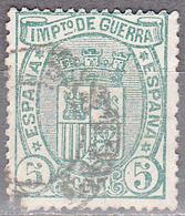 SPAIN    SCOTT NO.  MR3       USED     YEAR  1875 - 1875-1882 Königreich: Alphonse XII.
