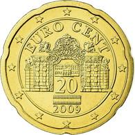 Autriche, 20 Euro Cent, 2009, FDC, Laiton, KM:3140 - Autriche