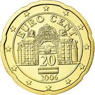 Autriche, 20 Euro Cent, 2006, FDC, Laiton, KM:3086 - Autriche