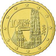 Autriche, 10 Euro Cent, 2009, FDC, Laiton, KM:3139 - Autriche