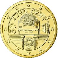 Autriche, 50 Euro Cent, 2006, FDC, Laiton, KM:3087 - Autriche