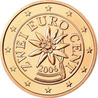 Autriche, 2 Euro Cent, 2006, FDC, Copper Plated Steel, KM:3083 - Autriche