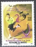 MOROCCO  25TH EDITION GRAND PRIX HASSAN II TENNIS SPORT 2009 Uk - Morocco (1956-...)