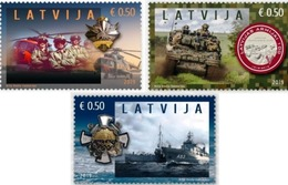 Militaria Latvia Lettland Lettonie 2019  Latvian National Armed Forces - 100 Years   MNH - Militaria