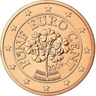 Autriche, 5 Euro Cent, 2009, FDC, Copper Plated Steel, KM:3084 - Autriche