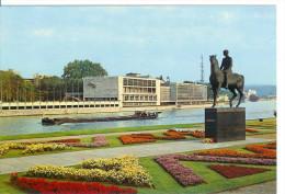LIEGE - Palais Des Congrès Avec Monument Albert I - Liege