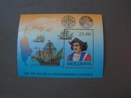 Moldova Block Kolumbus ** MNH - Moldawien (Moldau)