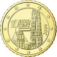 Autriche, 10 Euro Cent, 2006, FDC, Laiton, KM:3085 - Autriche