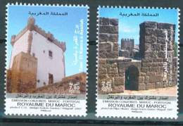 MOROCCO PORTUGAL JOINT ISSUE HISTORIC MONUMENT 2007 - Morocco (1956-...)