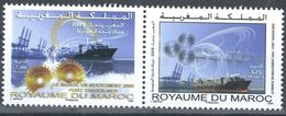 MOROCCO MOROCCO IN MOTION PORT TANGER-MED SHIP NAVIRE 2009 - Morocco (1956-...)