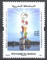 MOROCCO FORUM DECLARATION DES DROITS DE L' HOMME MARRAKECH 2014 - Morocco (1956-...)