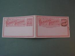 Uruguay , Doppelkarte 1898 - Uruguay