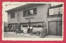 Lommel - Café Blauwe Kei ... Pub : Bièren Mena En Ginder-Ale ( Verso Zien ) - Lommel