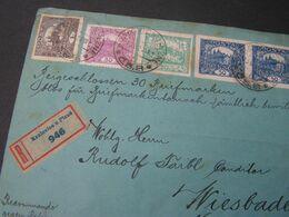 Hradschin Cv. Aus Kralovice 1920 - Briefe U. Dokumente