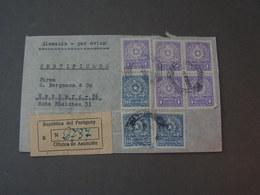Paraguay Cv.to Hamburg 1953 - Paraguay