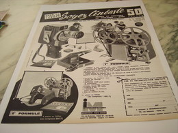ANCIENNE  PUBLICITE CAMERA INTERMANUFACTURE 1963 - Autres Collections