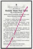 En 1970 Bailleul (59) Rachel BRYFAU ép Paul STAES - Décès