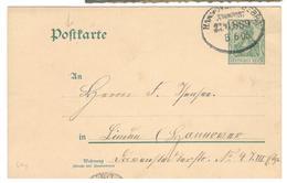 19350 - Entier  Cad Ambulant - Briefe U. Dokumente