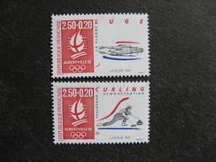 TB Paire N° 2679a Et N° 2680a, Neufs XX. - Francia