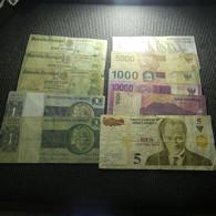 Lot 11 Banknotes Bad Grade - Mezclas - Billetes