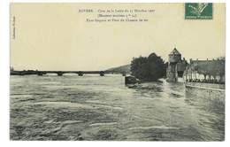 CPA 58 NEVERS CRUE DE LA LOIRE DU 17 OCTOBRE 1907 - Nevers