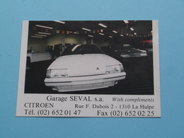 Garage SEVAL Citroën > LA HULPE - 19?? ( Zie Foto's ) ! - Non Classés