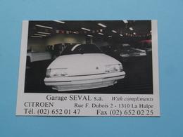 Garage SEVAL Citroën > LA HULPE - 19?? ( Zie Foto's ) ! - Calendriers