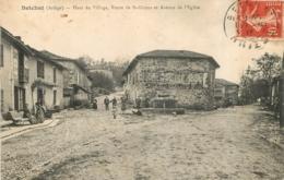 BETCHAT HAUT DU VILLAGE ROUTE DE ST GIRONS ET AVENUE DE L'EGLISE - Francia