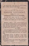 Gheel, Geel, 1925, Joseph Vervoort, Pauwels - Images Religieuses