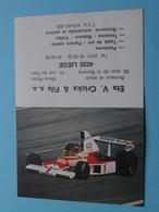 Ets. V. Crickx & Fils > 4020 Liège - 1982 ( Zie Foto's ) ( Voiture / Car / Rally ) ! - Petit Format : 1981-90
