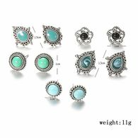 5 Paires De Boucles D Oreilles - Earrings