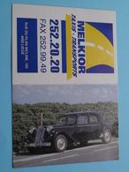 MELKIOR Taxis - Transports > 4000 Liège - 1997 ( Zie Foto's ) ( Voiture / Car ) ! - Calendarios
