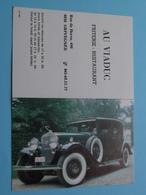AU VIADUC Friterie - Restaurant > 4030 GRIVEGNEE - 1987 ( Zie Foto's ) ( Voiture / Car ) ! - Calendriers