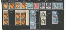 Algérie, Un Lot, Nuances Et Variétés Diverses, 5 Scanns - Algerien (1924-1962)