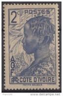 N° 110 - X X  - ( C 51 ) - Ivory Coast (1892-1944)