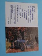 Le C.L.A. Cabinet Liegeois D'Assurance > 4600 Chenee Liège - 1989 ( Zie Foto's ) ( Voiture / Car ) ! - Calendriers