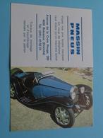 MASSIN PNEUS > 4020 Bressoux (Droixhe) - 1993 ( Zie Foto's ) ( Voiture / Car ) ! - Groot Formaat: 1991-00